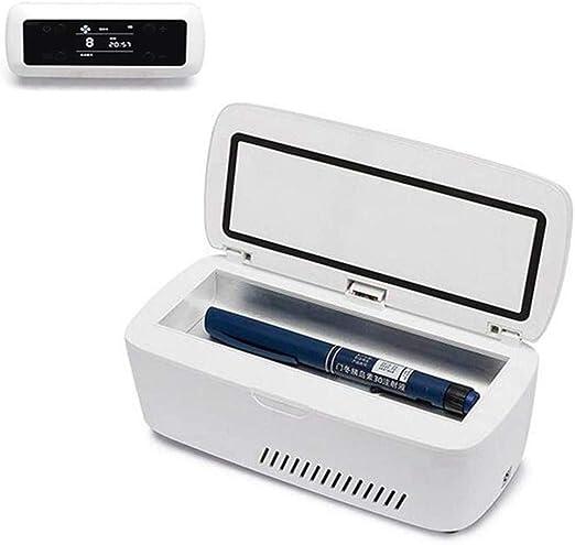 Mini recargable portátil refrigerador de la insulina caja de ...