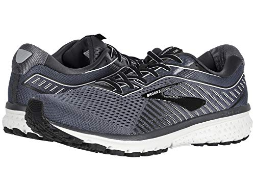Brooks Men's Ghost 12 Black/Pearl/Oyster 10.5 D US