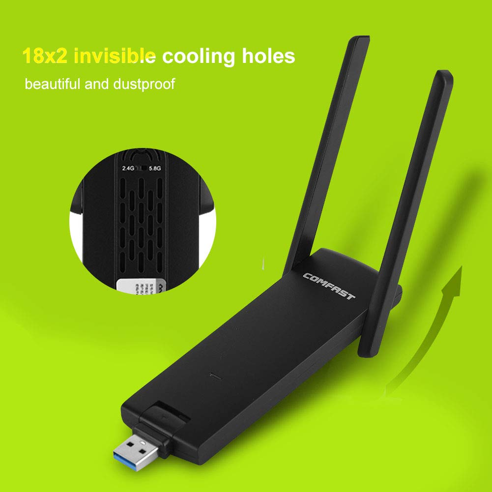 Wi-Fi Mini WiFi Extender CF-WR371 AC USB3.0 Router Wireless 600Mbps Dual Band 802.11 Amplificatore di Segnale WiFi Expander 2,4 GHz e 5 GHz Bewinner Router Wireless Portatile