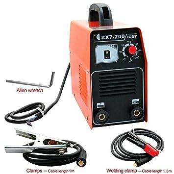 Herramienta de soldadura el/éctrica ZX7-200 220 V, 20-200 A, inversor ARC