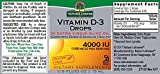 Nature's Answer Vitamin D-3 Drops 4 IU, .5-Fluid Ounce - 51QNP3l5hRL - Nature's Answer Vitamin D-3 Drops 4 IU, .5-Fluid Ounce