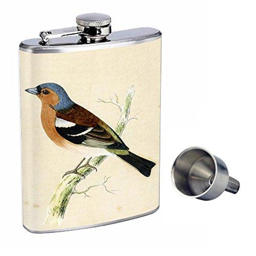 当店だけの限定モデル ビンテージ鳥Perfection d-005 Funnel inスタイル8オンスステンレススチールWhiskey B016XLGE2C Flask with Free Funnel d-005 B016XLGE2C, ムートンクラブ:6a50bb0f --- ecofriendlycarrybag.com