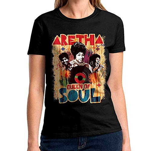Queen Of Soul Aretha Diva Legend Soul Music Retro Vinatge Customized Handmade T-shirt/Hoodie / Sweater/Long Sleeve/Tank Top/Premium T-shirt by Dabbing Boy