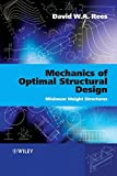 img - for Mechanics of Optimal Structural Design: Minimum Weight Structures book / textbook / text book