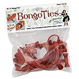 BongoTies ALL RED Bongo Ties A5-01-R ~ 10 Pack