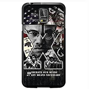 Malcolm X Hard Snap on Diy For Touch 4 Case Cover