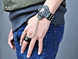 Final Fantasy VII Cloud Strife Tiger Head Cosplay Bracelet and Ring mp001999