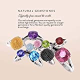 Diamondere Natural and Certified White Topaz and