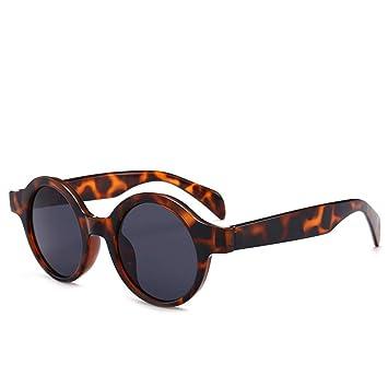 YSFU Gafas de sol Gafas Redondas Pequeñas Gafas De Sol De ...