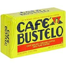 Café Bustelo Coffee Espresso, 10 Ounce Bricks (Pack of 4)