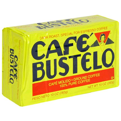 Café Bustelo Coffee Espresso, 10 Ounce Bricks (Pack of 4)