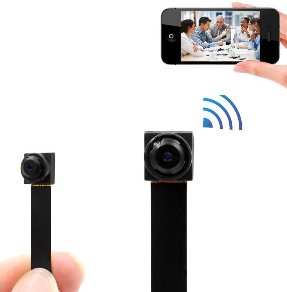 Mini Wifi Camera, SANPROV HD 1080P Nanny Recording System Security Camera with Motion Detection