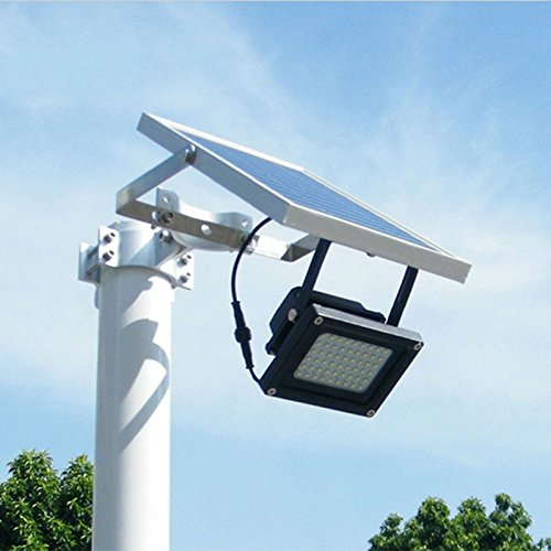 Solar-Powered-Floodlight-Spotlight-Outdoor-Waterproof-Security-Light-54led-400-Lumen-for-Home-Garden-Lawn-Pool