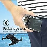 Leewa@ X185 2.4G 4CH Altitude Hold HD Camera WIFI FPV RC Quadcopter Foldable Pocket Drone Selfie
