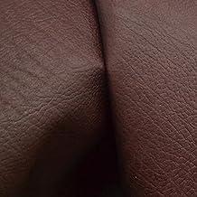 Leather Bison Hide Side 19.3 Sq Ft Burgundy 4 1/2-5 Ounces Grainy-12