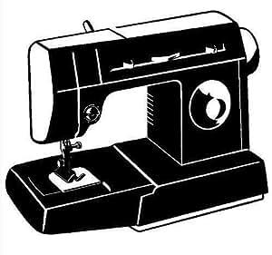 Amazon Com Sewing Machine Vinyl Decal Car Truck Window