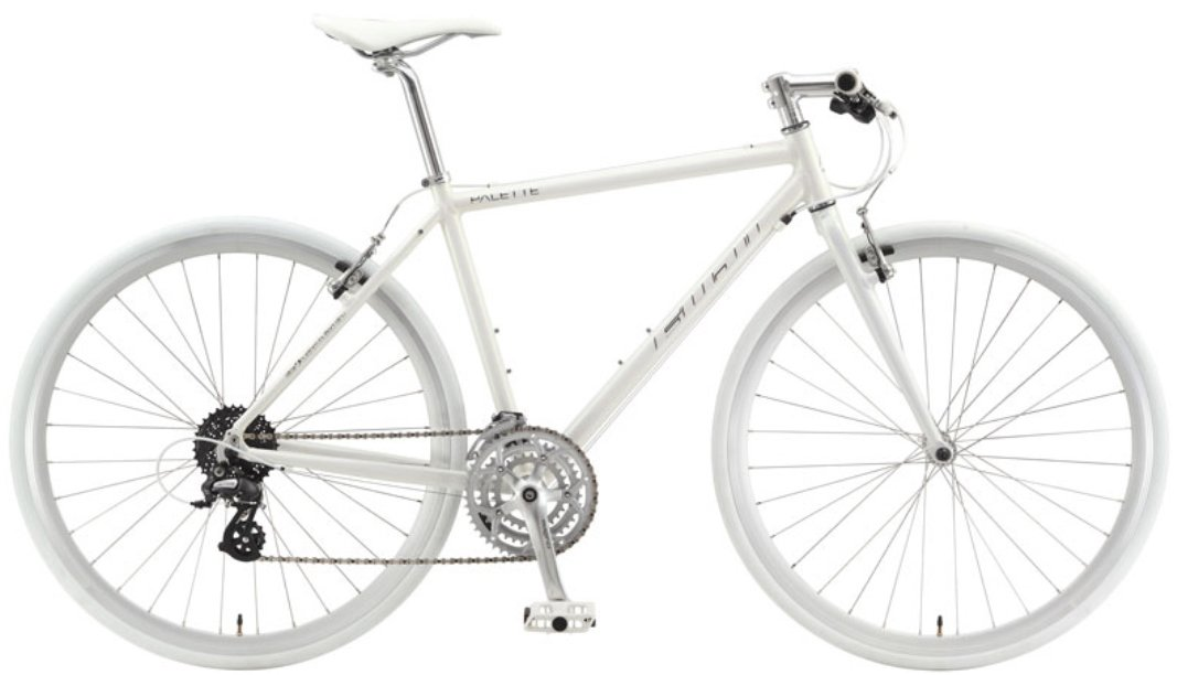 フジ(FUJI) PALETTE パレット 3×8speed AURORA WHITE クロスバイク B00OAWCB8817