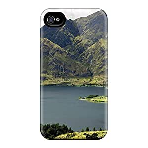 Iphone 6 Cases Covers - Slim Fit Protector Shock Absorbent Cases (lake Under Mountains)