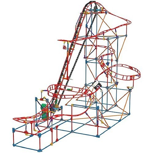 K'nex Talon Twist Roller Coaster Building Set