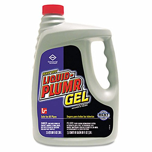 Product of Liquid Plumr Gel Heavy-Duty Clog Remover, 80 oz. - Drain & Septic Care [Bulk ()