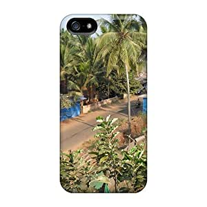 New Style Case Cover RhBrOjw3726KaeBC Calangute Beach Forest Road In India Compatible With Iphone 5/5s Protection Case