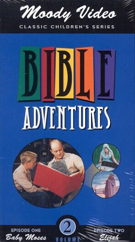 Baby Moses / Elijah [Bible Adventures - Moody Video Volume 2] [VHS]