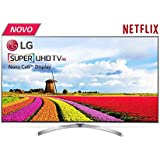 Smart TV LG Super UHD 65 polegadas 65SJ8000 WebOS 3.5 Painel IPS 4K Quantum Display com HDR