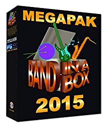 PG Music Band-In-A-Box 2015 MegaPak
