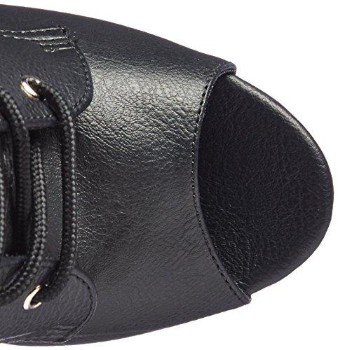 Pleaser Womens Illu1021/Bpu/M Black Faux Leather/Black Matte g7qVOHRFu1