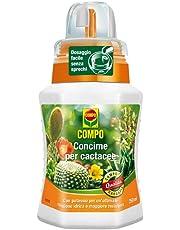 Compo 1406402005 Concime per Cactacee, 250 ml, Verde, 6.3x7x15.5 cm