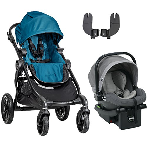 Baby Jogger 2016 City Select Travel System, Teal/Steel Grey