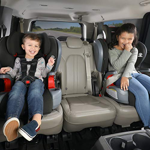 51QNVAtdf4L - Britax Grow With You ClickTight Plus Harness-2-Booster Car Seat | 3 Layer Impact Protection - 25 To 120 Pounds, Jet Safewash Fabric [New Version Of Pinnacle]