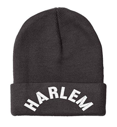 HARLEM- Beanie-Black - Mall Harlem Chicago