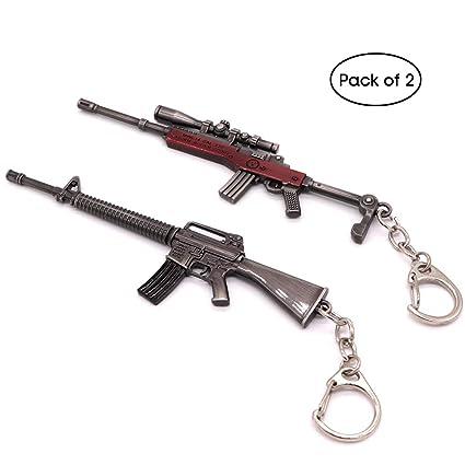 Llavero con diseño de pistola, para hombre y hombre, con ...