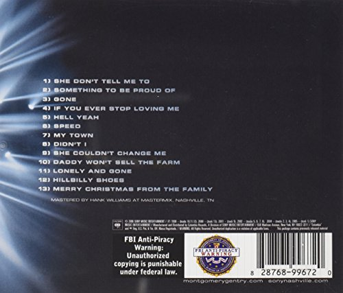 Montgomery Gentry - Greatest Hits: Something To Be Proud Of ...