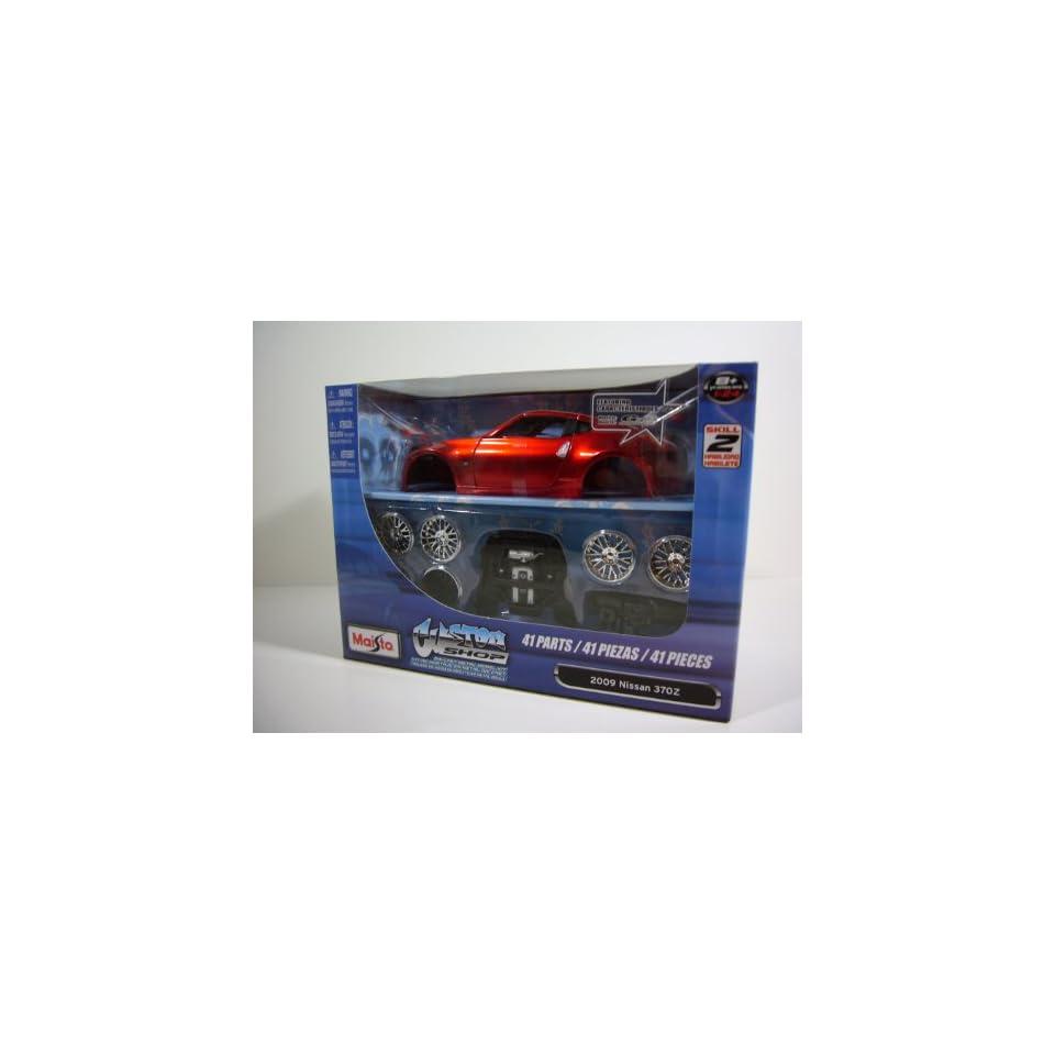 Maisto 124 2009 NISSAN 370Z Diecast Metal Model Kit Custom Shop