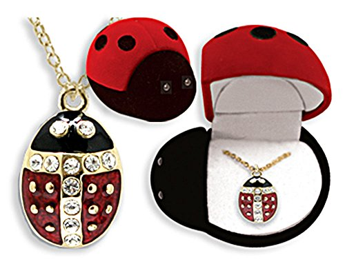 Circle of Friends Pendant, Ladybug