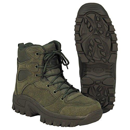 MFH Stivali Anfibi Scarponi uomo donna militari escursioni Boots Commando 18823B