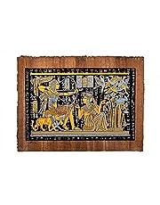 Egyptian pharonic papyrus glue at the night , 2725619349651