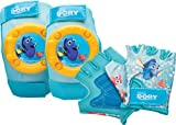 Bell 7078264 Finding Dory Protective Gear Pad And Glove Set, Blue