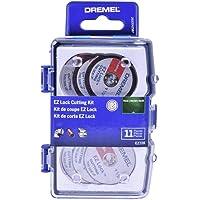 Dremel Kit EZ-Lock para Cortar com 11 acessórios