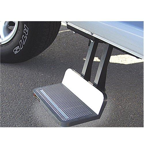 UPC 098854502207, Kodiak 950220000 SideWINDER Retractable Driver's Side Step, Silver - 8 inch drop