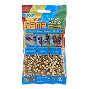 Hama Beads 1000 Bead Pack Gold - 61 by DKL