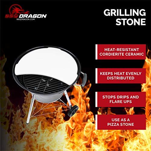 BBQ Dragon Smoking Stone & Pizza for 22