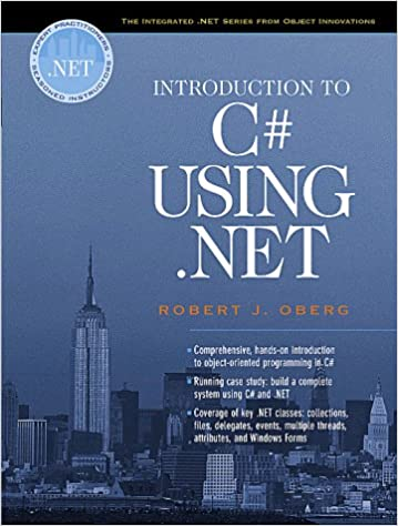 Book Introduction to C Using .Net (Oberg .Net)