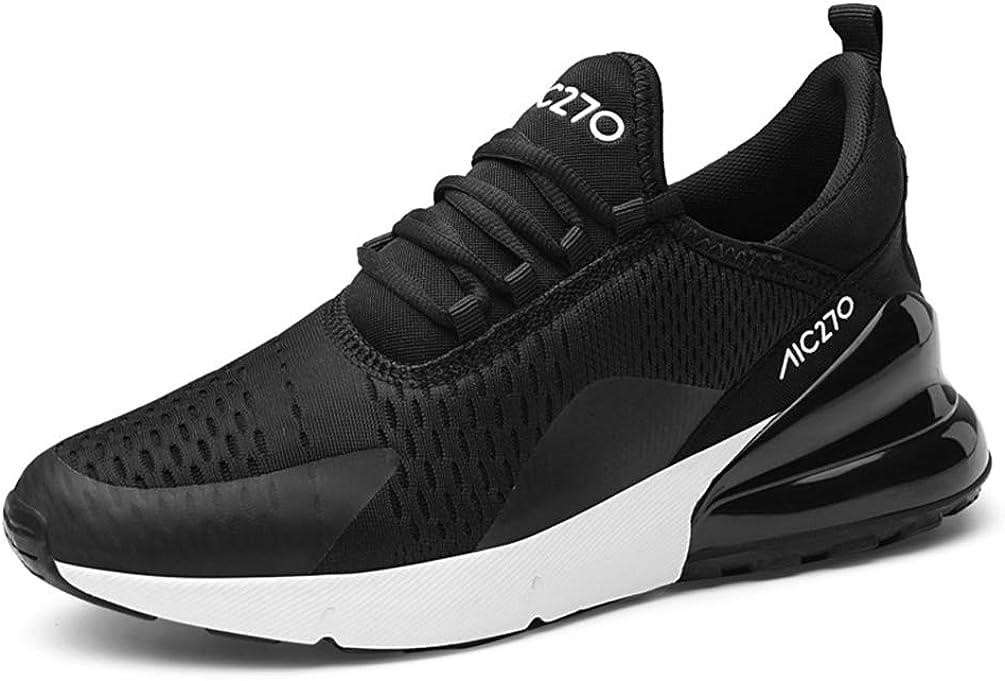 Hombres Zapatillas Deportivas al Aire Libre cómodos amortiguación Transpirable Desgaste Hombres Resistentes Zapatillas