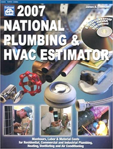 2007 national plumbing hvac estimator national plumbing and hvac estimator - Hvac Estimator