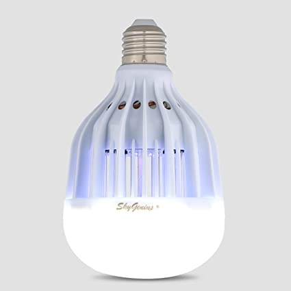 LED Bug Zapper Light Bulb, Mosquito Killer For Outdoor Porch Patio Back  Yard Indoor House