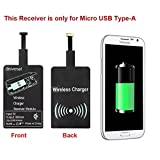 Android Qi Charging Receiver Ultra-thin Qi Standard Wireless Charging Receiver For Samsung Galaxy S2/S3/S4/S5/Note 2/3/4