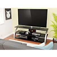 Z-Line Designs Elecktra TV Stand, 55-Inch, Brown